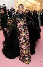 Lily Aldridge attends The 2019 Met Gala Celebrating Camp: Notes on Fashion at Metropolitan Museum of Art on May 06, 2019 in New York City. (Photo by Neilson Barnard/Getty Images)