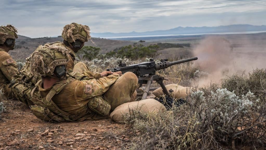 Darwin S 1st Brigade Simulates War As Part Of Excercise