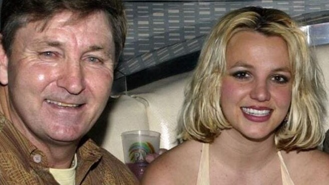 Britney's personal and financial life has been controlled by her father Jamie. Picture: Getty Images