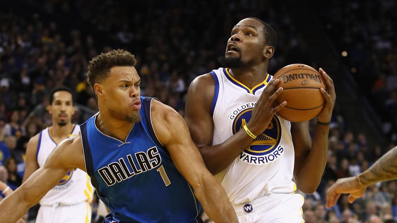 Justin Anderson during his time at the Mavericks. Ezra Shaw/Getty Images/AFP