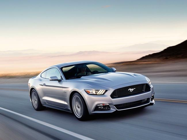 The new Ford Mustang is cheaper than the last iconic two-door muscle car sold locally, the Holden Monaro.