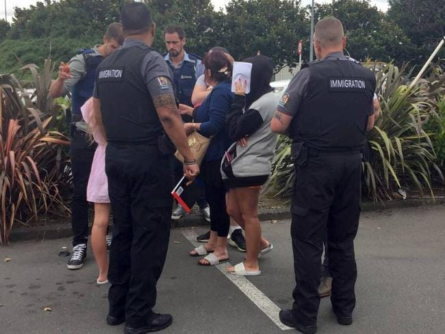 The family got in trouble with immigration authorities. Picture: Belinda Feek/NZ Herald
