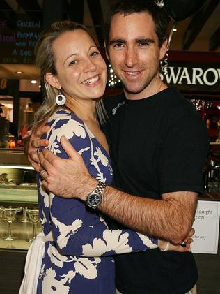 Carrie with her late husband Greg.
