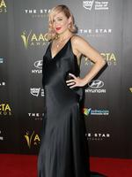 Emma Lung arrives at the 4th AACTA Awards Ceremony at The Star on January 29, 2015 in Sydney, Australia. (Photo by Mark Metcalfe/Getty Images)