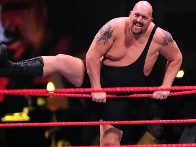 The Big Show rumbles into the ring
