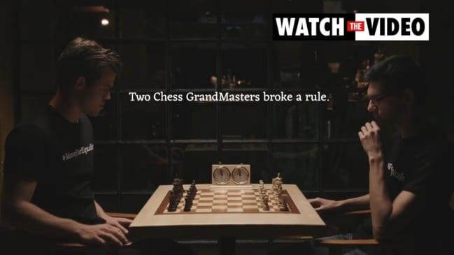 Move for equality chess campaign: Black piece makes first move