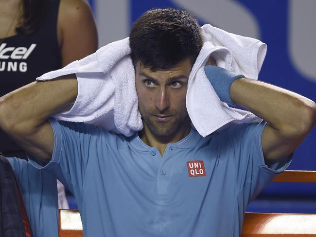 Djokovic has refused to stoop to the same level.