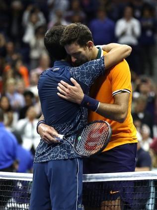 Us Open Final 2018 Novak Djokovic V Juan Martin Del Portro Argentine S Cries After Loss Fox Sports