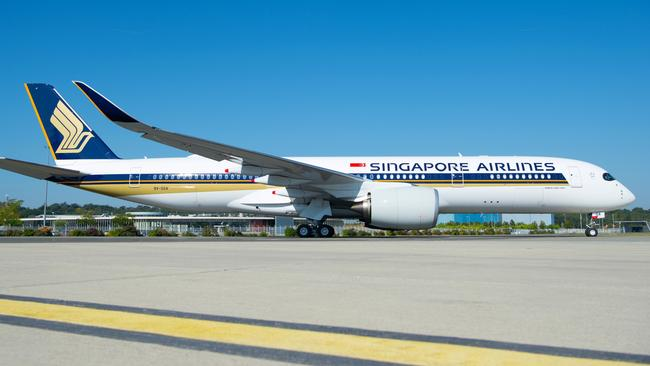 Singapore Airlines has been named the best airline for 2019. Picture: Singapore Airlines