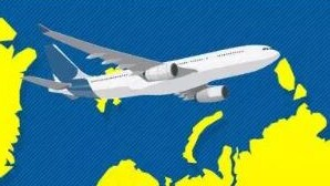 Plane turbulence: Map reveals worst places for bumpy flights