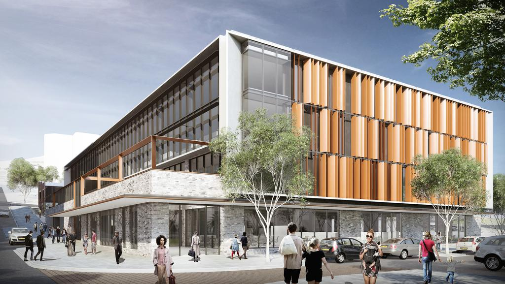 Town planner furious over proposed site for gosford tax office will an artists impression of the proposed ato building in gosford john mcinerney says it should malvernweather Choice Image