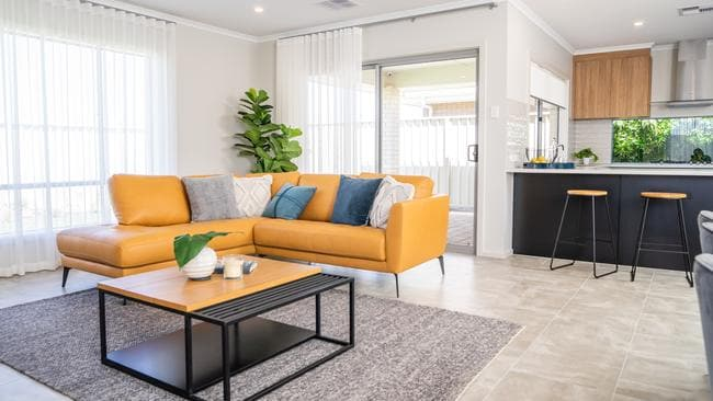 Springhaven by Fairmont Homes is on display at Central Boulevard, Munno Para West. Photo: Nick Clayton.