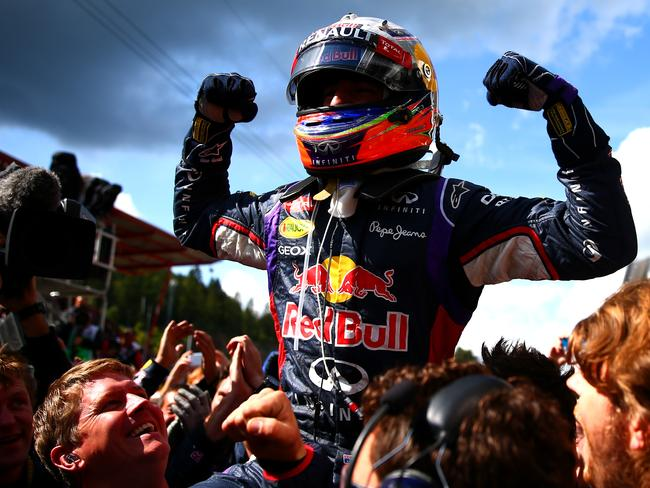 Ricciardo is on a hat-trick when F1 heads to Italy this weekend.