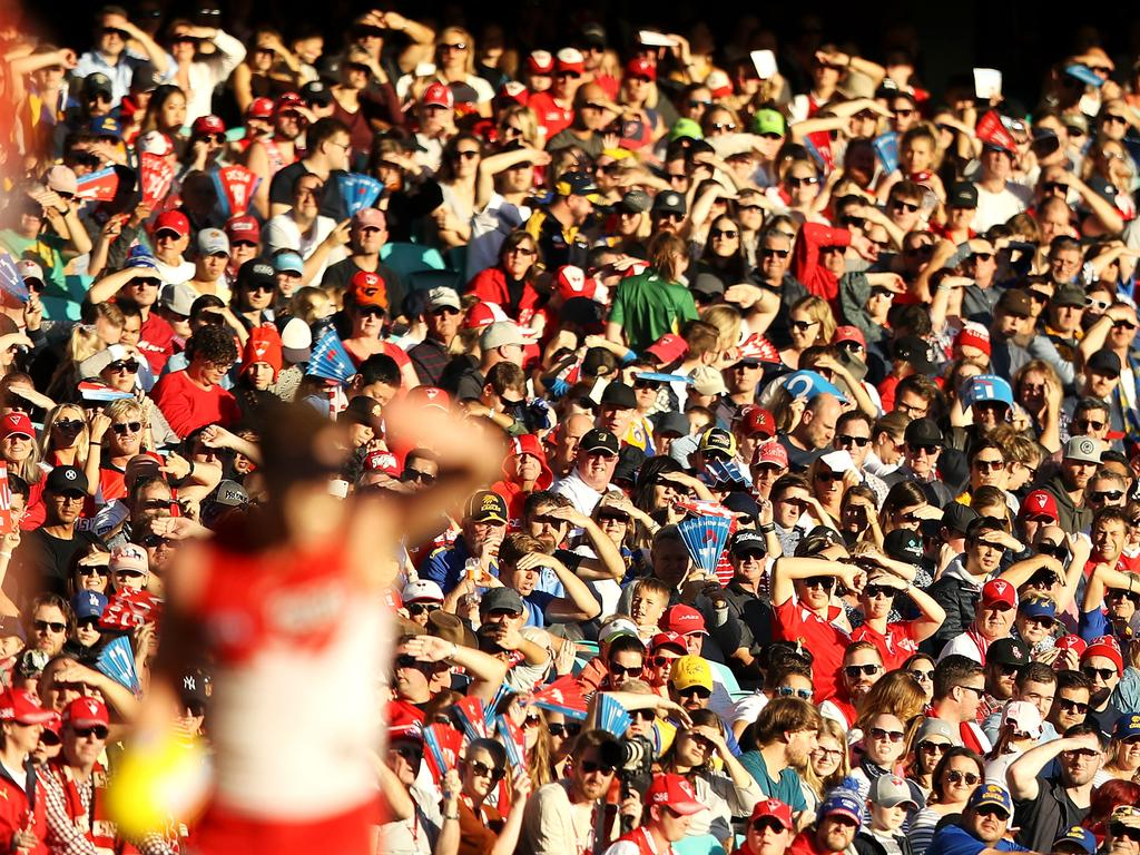 AFL Rd 12 - Sydney v West Coast
