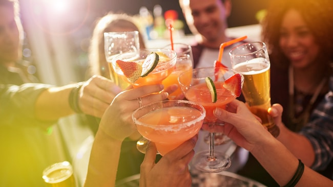 With alcohol flowing and John not there, Carla finally started letting down her hair... Photo: iStock