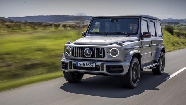 The G-Wagen started life as a military vehicle.