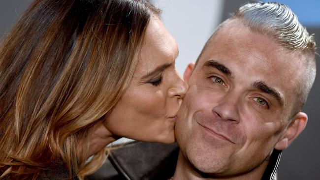 Williams and wife Ayda Field. Picture: Axelle/Bauer-Griffin/FilmMagic