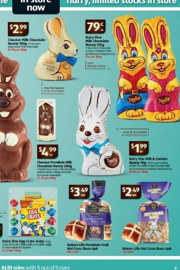 The Dairy Fine chocolates are currently on sale at Aldi.Source:Supplied