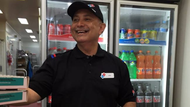 Fred White had been a Domino's franchisee since 1998. Picture: Facebook/Don Meij