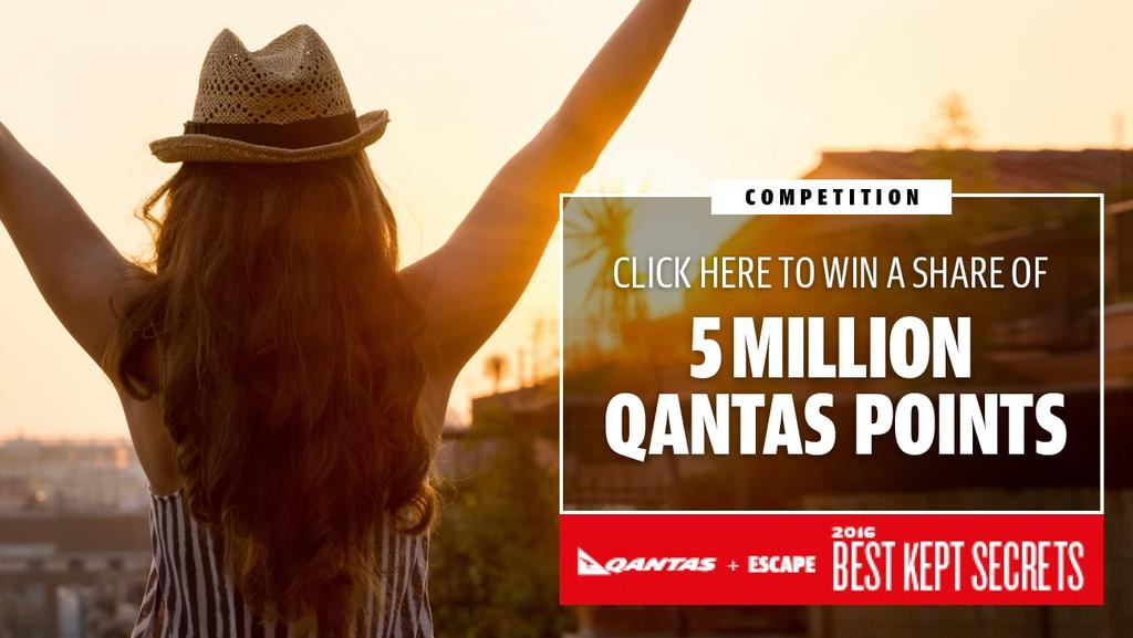 ESCAPE: Qantas Best Kept Secrets competition artwo