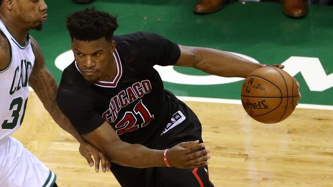 Bulls star Jimmy Butler.