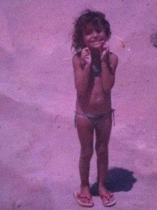 Ana Flavia, aged five in the only photo her mother still has, was working an 11-year-old prostitute when she died. Picture: Meninadanca.