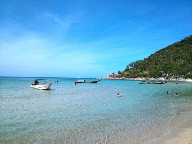 Koh Pha Ngan is a spectacular location. Picture: Antischokke