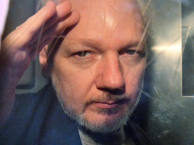 Julian Assange. Picture: AFP