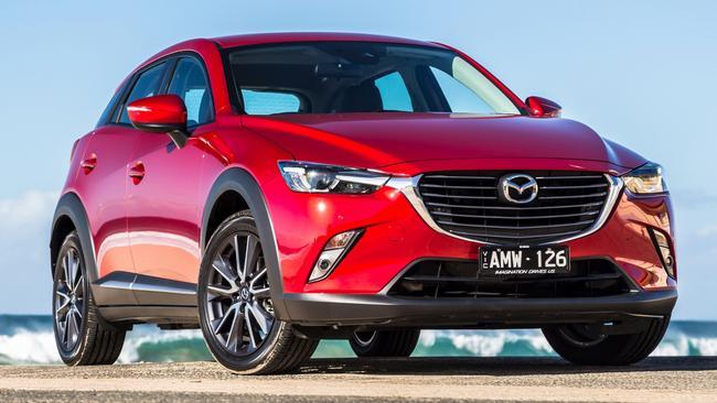 Mazda CX 3. Pictures: Thomas Wielecki