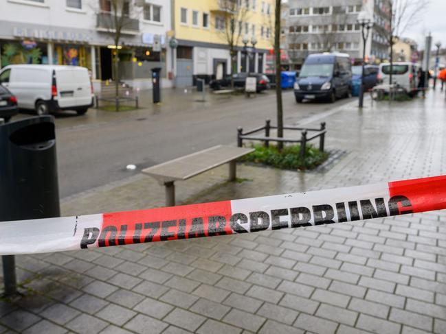 Nine people were killed in the shooting at a hookah bar in Hanau, near Frankfurt. Picture: PATRICK HERTZOG / AFP.