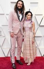 Jason Momoa and Lisa Bonet attend the 91st Annual Academy Awards at Hollywood and Highland on February 24, 2019 in Hollywood, California. (Photo by Frazer Harrison/Getty Images)