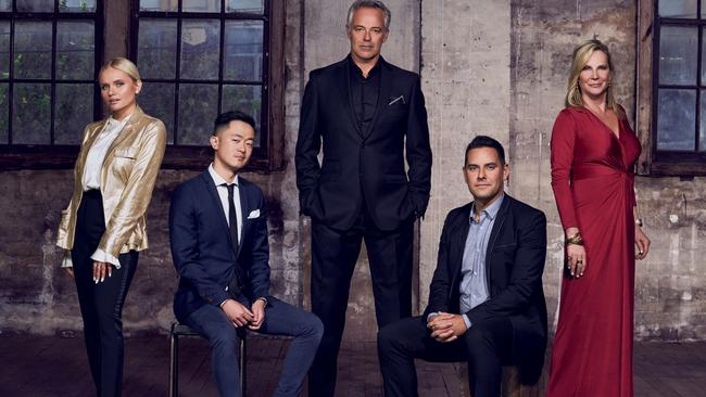 Actor, singer and model Alli Simpson, writer Benjamin Law, actor and broadcaster Cameron Daddo, politician Alex Greenwich and Sydney socialite and charity queen Skye Leckie ditch privilege for life on the streets in Filthy Rich & Homeless. Picture: SBS