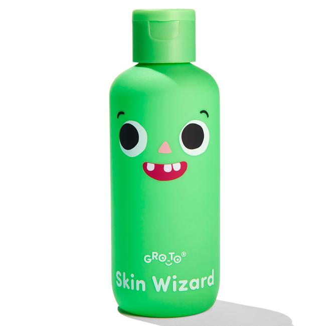 The Skin Wizard turns into a fun game of tickle monster that's good for delicate skin. Picture: Supplied
