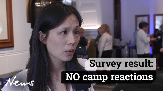 Survey result: NO camp reactions