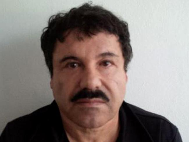 El Chapo, who became a billionaire off of drug trafficking, is in a maximum security Colorado jail. Picture: AFP