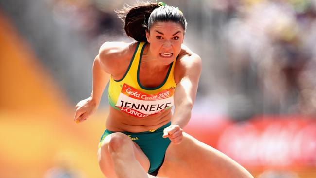 Michelle Jenneke broke 13 seconds for the first time in a yea.