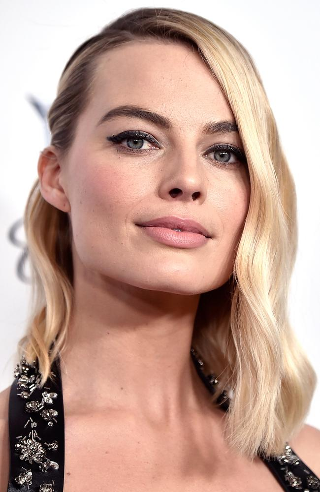 Margot Robbie is known for her super-fit figure, particularly for her physically demanding role as pro skater Tonya Harding in I, Tonya. Picture: Getty Images