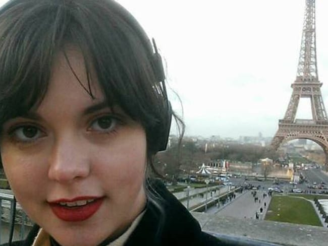 Australian Emma Grace Parkinson was injured in the Paris attacks.