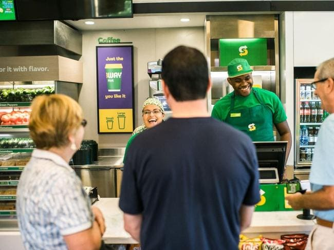 Subway restaurants in Australia are changing. Picture: Supplied