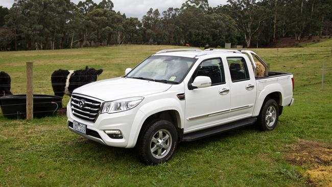 A Great Wall Steed is one of the cheapest vehicles on the market.