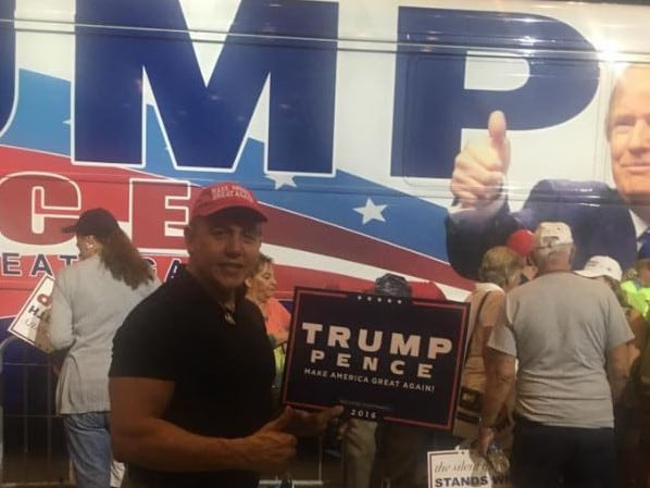 Cesar Sayoc has been arrested suspected of being the MAGAbomber. Picture: Supplied