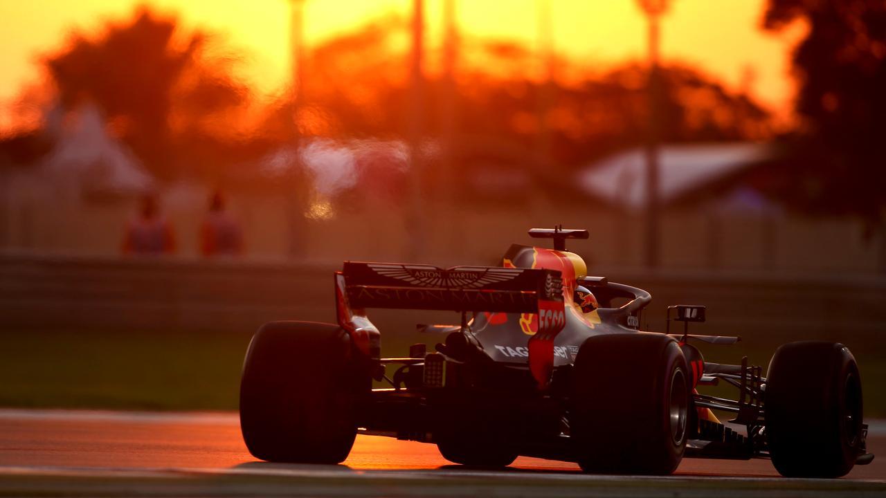 The sun is setting on Daniel Ricciardo's Red Bull career.