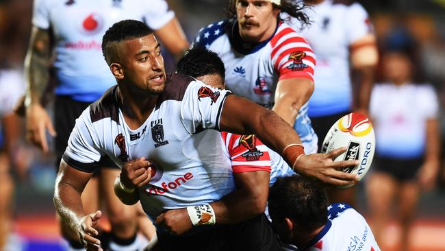 Kikau has starred for Fiji in the past. Picture by Zak Simmonds.