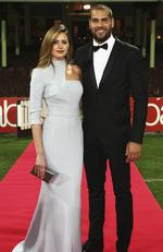 2014 - Sydney Swans forward Lance 'Buddy' Franklin and girlfriend Jesinta Campbell on the red carpet for the Brownlow Medal dinner at the SCG. Picture: Phil Hillyard