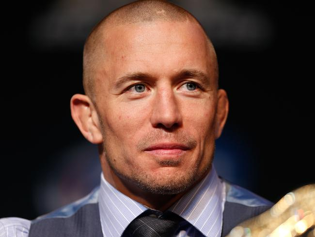 Georges St-Pierre during his reign as UFC champion.