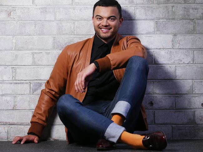 Pop star Guy Sebastian is the latest big-name act to lend her support to the Hay Mate: Buy A Bale — A Concert For The Farmers. Picture: Sam Ruttyn