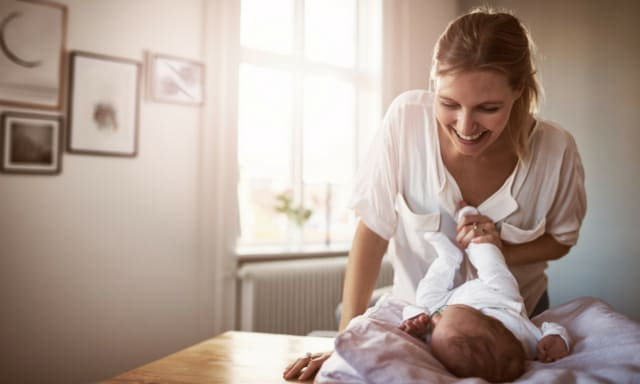 Caring for a new baby means mum's recovery can fall by the wayside. Picture: iStock
