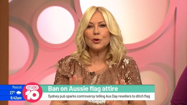 Studio 10 has been embroiled in controversy over comments made by Kerri-Anne Kennerley on Monday. Picture: Studio 10