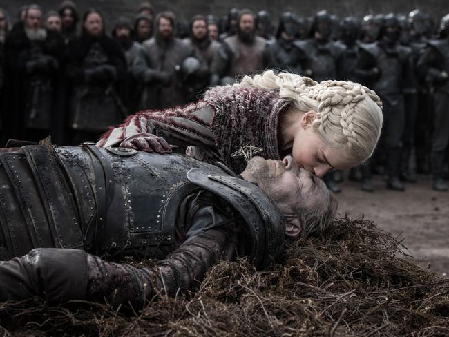 Jorah's death sent Dany on a downward spiral. Picture: HBO