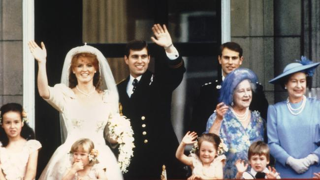Prince Andrew, the Duke of York and his wife Sarah Ferguson, the Duchess of York, were married in 1986. Photo: AFP